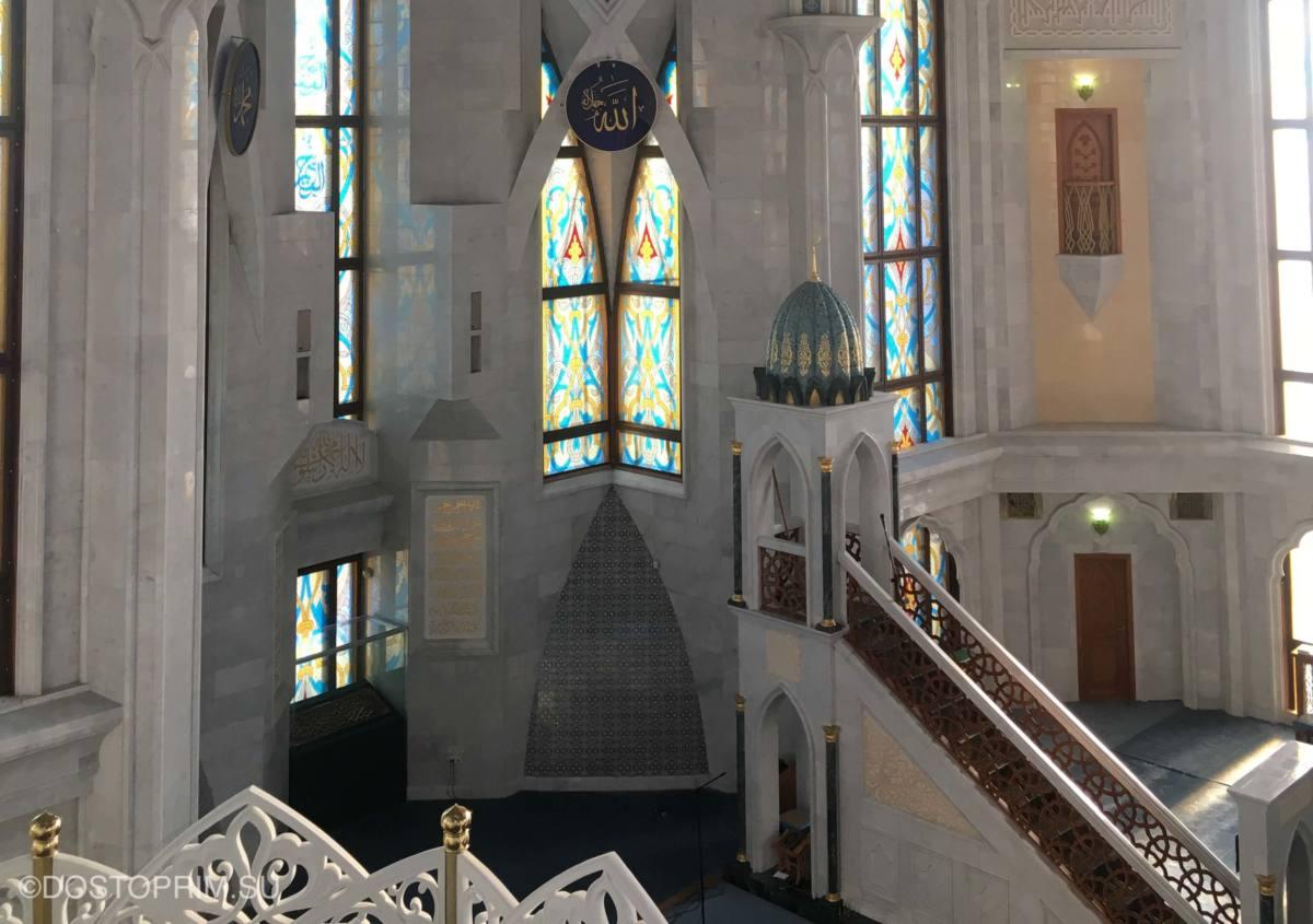 Минбар в мечети Кул Шариф