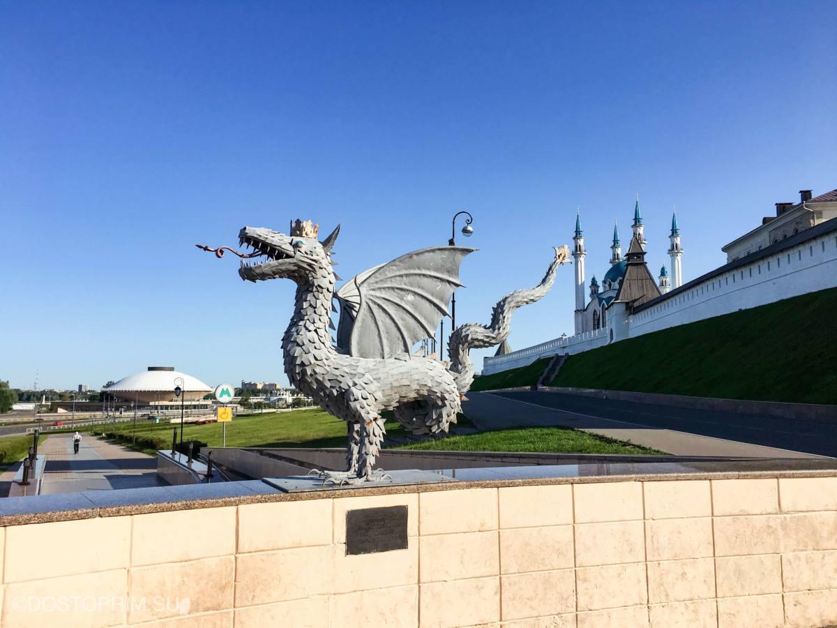 Куда сходить в Казани туристам летом