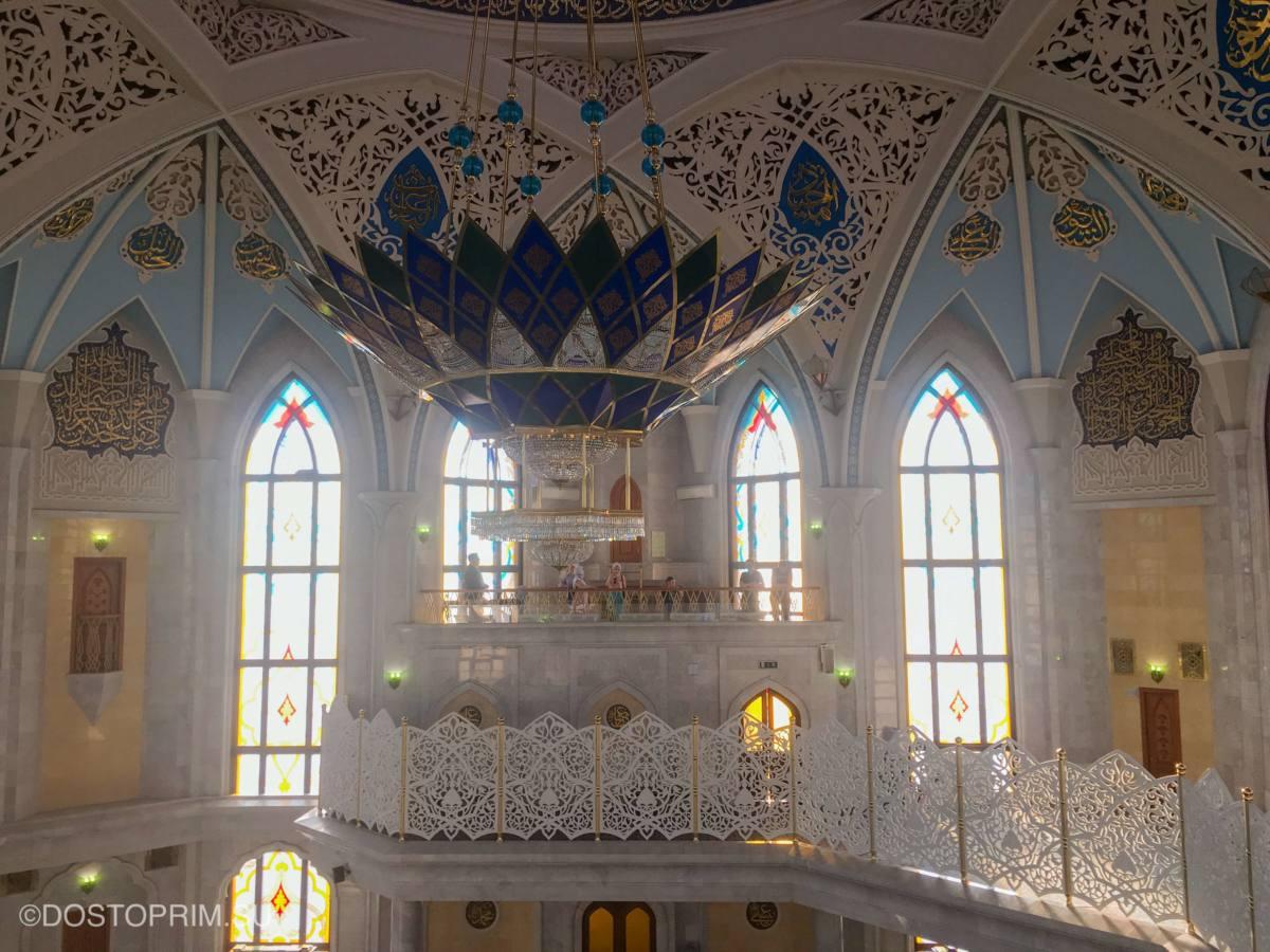 Балкон в мечети Кул Шариф